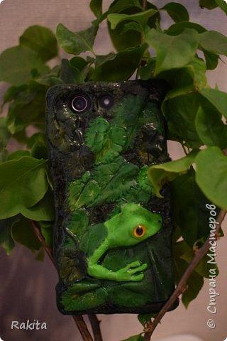 Здравствуйте уважаемые  мастера и мастерицы! Сегодня покажу панельку телефона декорированную пластикой.  фото 2