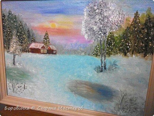 Всем доброго времени суток!  Продолжаю учиться живописи.   фото 12