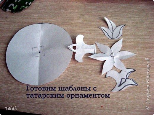 """Дидактическая игра по УМК """"Укрась тюбетейку"""" фото 9"""