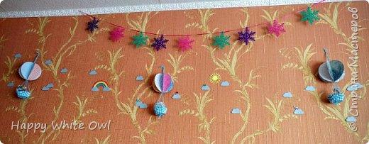 Здравствуйте! Сегодня хочу поделиться с Вами своим первым декором для комнаты. МК Вы найдете здесь https://youtu.be/hGfgcu6-nEY. Всего я сделала пока что три воздушных шара. Позже хочу сделать ещё парочку меньшего размера.  фото 2