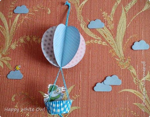 Здравствуйте! Сегодня хочу поделиться с Вами своим первым декором для комнаты. МК Вы найдете здесь https://youtu.be/hGfgcu6-nEY. Всего я сделала пока что три воздушных шара. Позже хочу сделать ещё парочку меньшего размера.  фото 3