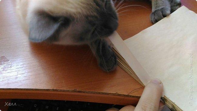 В подарок другу был сделан такой вот блокнотик.  Формат - А5,  на 50 листов, все листы старились вручную фото 3