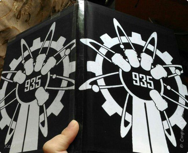 В подарок другу был сделан такой вот блокнотик.  Формат - А5,  на 50 листов, все листы старились вручную фото 7