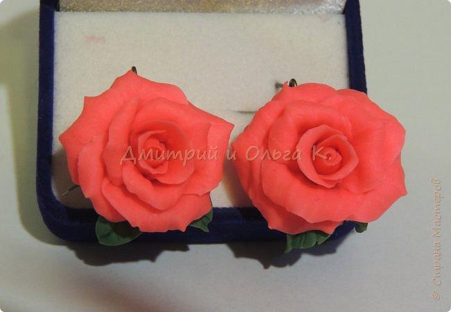 Коралловые пионовидные розы. фото 2