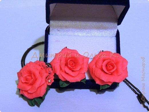 Коралловые пионовидные розы. фото 1