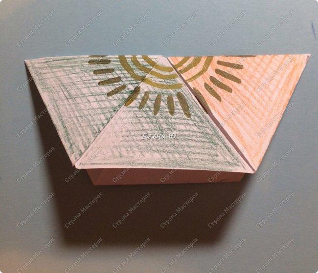 Предлагаю сделать забавную и совсем несложную  безделушку (головоломку)  - флексагон. Флексагоны — плоские модели из полосок бумаги, способные складываться и сгибаться определённым образом.  фото 21