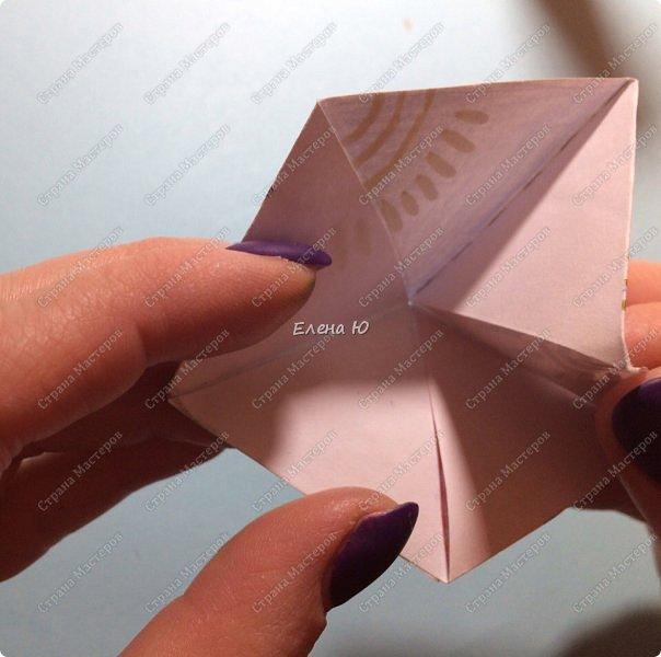 Предлагаю сделать забавную и совсем несложную  безделушку (головоломку)  - флексагон. Флексагоны — плоские модели из полосок бумаги, способные складываться и сгибаться определённым образом.  фото 24