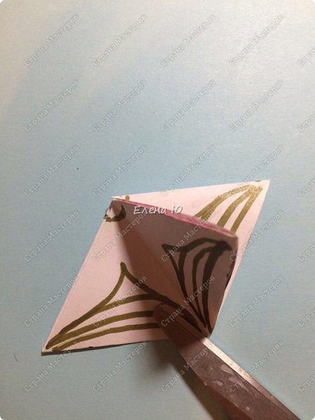 Предлагаю сделать забавную и совсем несложную  безделушку (головоломку)  - флексагон. Флексагоны — плоские модели из полосок бумаги, способные складываться и сгибаться определённым образом.  фото 30