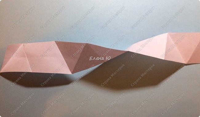 Предлагаю сделать забавную и совсем несложную  безделушку (головоломку)  - флексагон. Флексагоны — плоские модели из полосок бумаги, способные складываться и сгибаться определённым образом.  фото 9