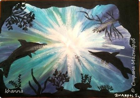 Рисунок Алины Х., ученицы 5 класса фото 7