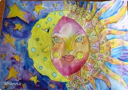 Рисунок Миляуши, ученицы 6 кл.  фото 1