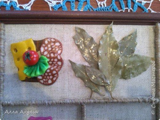 Сделала подруге в подарок панно на кухню фото 3
