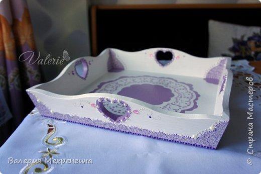 Кухонный комплект в фиолетово-лиловых оттенках фото 6