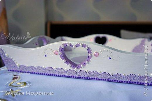 Кухонный комплект в фиолетово-лиловых оттенках фото 7
