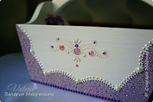 Кухонный комплект в фиолетово-лиловых оттенках фото 4