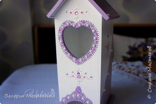 Кухонный комплект в фиолетово-лиловых оттенках фото 9
