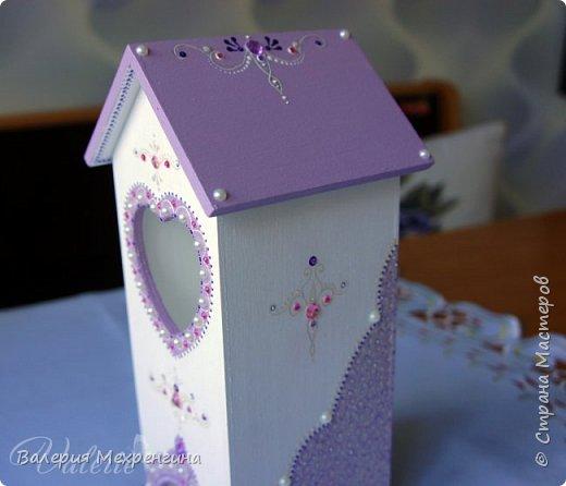 Кухонный комплект в фиолетово-лиловых оттенках фото 10