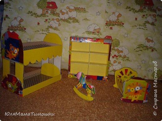 Детская комната в кукольный дом