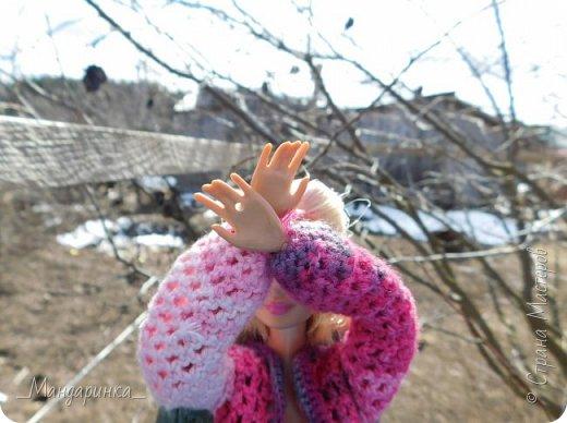 Всем доброго времени суток. Связалась тут кофточка и юбочка, ну и мы конечно же пошли погулять. Выдался денёк на редкость тёплым и даже не дождливым, но мы всё равно успели замёрзнуть. фото 14