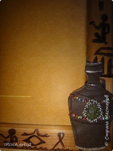 Фоторамка ЕГИПЕТ. ( изображение царицы Нефертити). фото 3