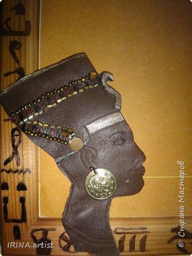 Фоторамка ЕГИПЕТ. ( изображение царицы Нефертити). фото 2