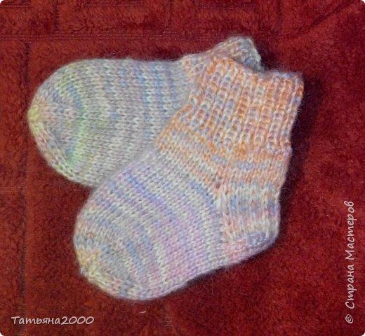 Носочки для малышки фото 3