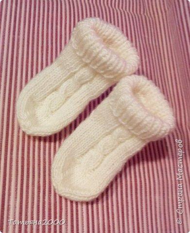 Носочки для малышки фото 1