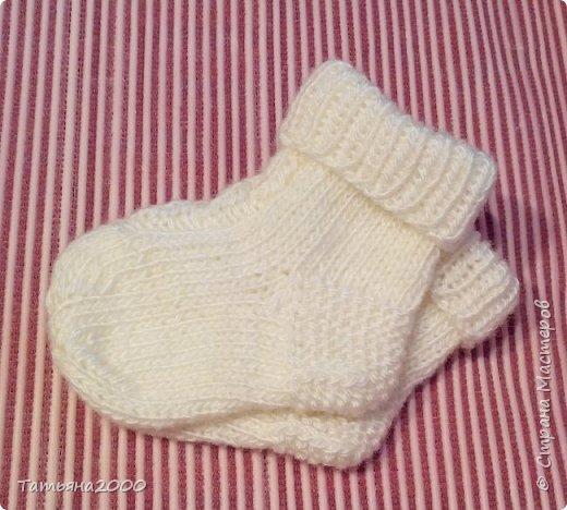 Носочки для малышки фото 2