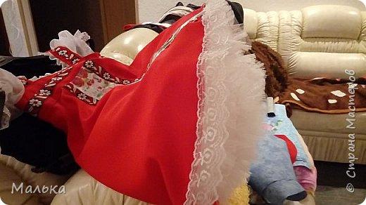 """День добрый! Давненько меня здесь не было...и тут... Сестра попросила сшить костюм для  ученицы...на """"Слет Василис"""" А что получилось...судить вам... фото 6"""