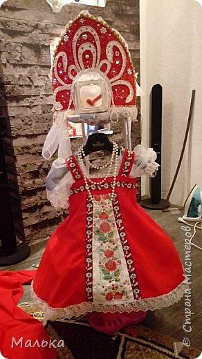 """День добрый! Давненько меня здесь не было...и тут... Сестра попросила сшить костюм для  ученицы...на """"Слет Василис"""" А что получилось...судить вам... фото 7"""