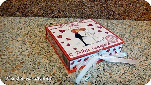 Шоколадный комплимент в день свадьбы фото 1
