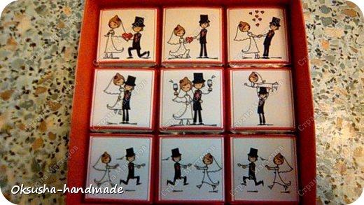 Шоколадный комплимент в день свадьбы фото 9