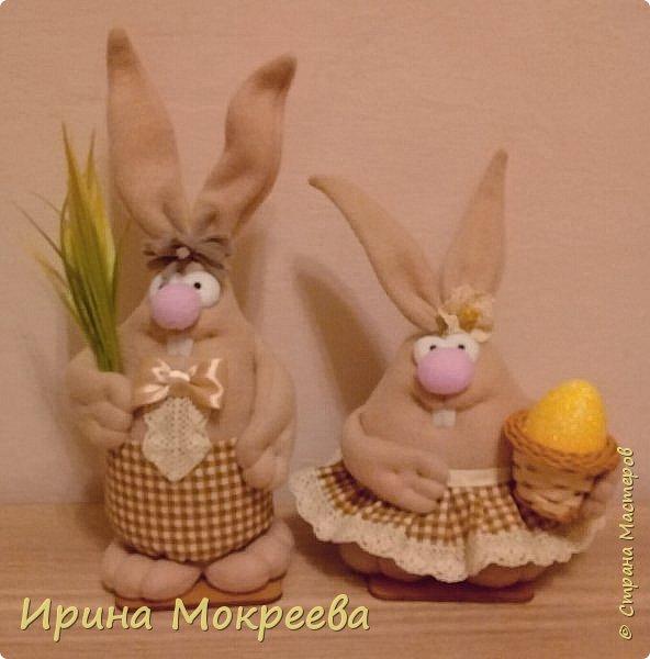 К пасхе решила сделать маленькие подарочки друзьям - пасхальных кроликов.А  вдохновили меня кролики Корнеевой Ольги https://stranamasterov.ru/node/747415?c=favorite фото 2