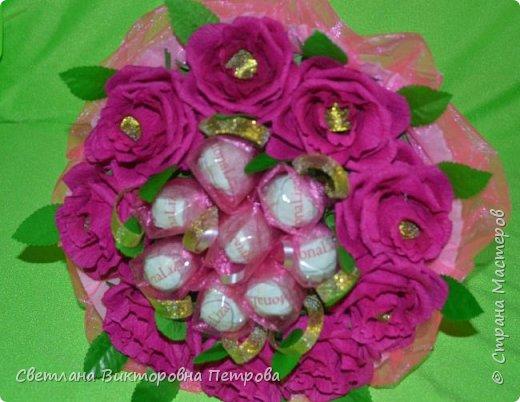 букеты из конфет фото 4