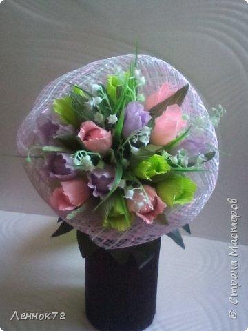 Букет тюльпанов фото 1