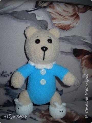 Добрый вечер жители СМ. вот за последние полгода поднакопилось немножко вязалок..... Медвежонок в пижаме фото 2
