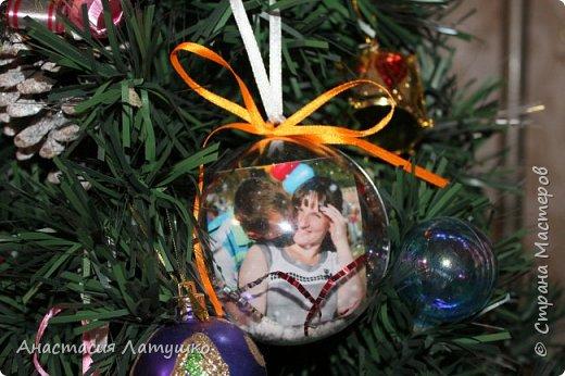 Вот такие оригинальные фото-шары делала на подарки на Новый год. =) фото 4