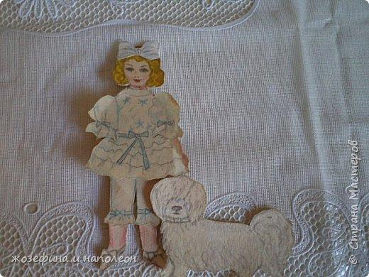 """Здравствуйте дорогие мастера и мастерицы. Увидела прелестных , бумажных куколок у Елены Ивановны, вспомнила, что у самой вот уже 50 лет  бережно хранится бумажная куколка Анжелика. Нарисовала я её после просмотра фильма """"Анжелика"""" роль, которой ,сыграла французская актриса Мишель Мерсье. фото 21"""