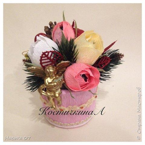 Ещё раз здравствуйте)))Здесь я собрала подарки на 8 Марта))) фото 6