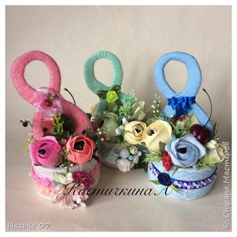 Ещё раз здравствуйте)))Здесь я собрала подарки на 8 Марта))) фото 4
