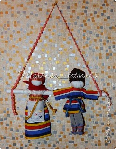 Появились у меня недавно новые веревочные куклы из пряжи, вот и решила их показать, а заодно и старые. фото 10