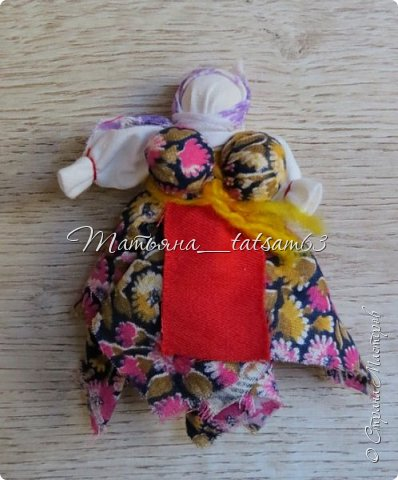 Появились у меня недавно новые веревочные куклы из пряжи, вот и решила их показать, а заодно и старые. фото 4
