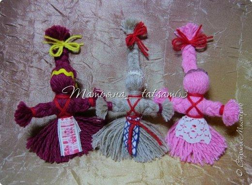 Появились у меня недавно новые веревочные куклы из пряжи, вот и решила их показать, а заодно и старые. фото 15