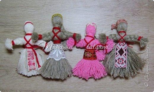 Появились у меня недавно новые веревочные куклы из пряжи, вот и решила их показать, а заодно и старые. фото 14