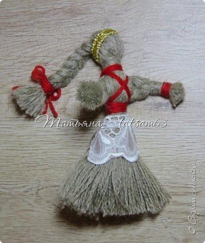 Появились у меня недавно новые веревочные куклы из пряжи, вот и решила их показать, а заодно и старые. фото 19