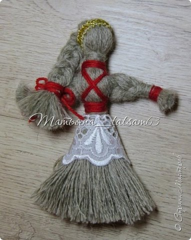Появились у меня недавно новые веревочные куклы из пряжи, вот и решила их показать, а заодно и старые. фото 16