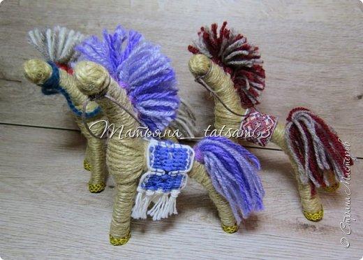 Появились у меня недавно новые веревочные куклы из пряжи, вот и решила их показать, а заодно и старые. фото 11