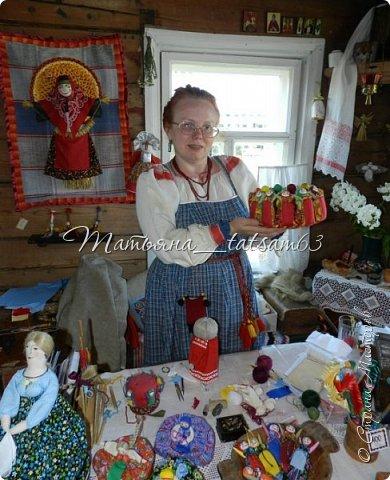Появились у меня недавно новые веревочные куклы из пряжи, вот и решила их показать, а заодно и старые. фото 6