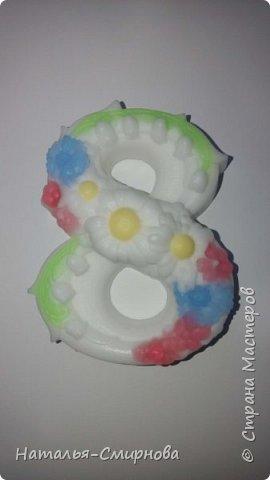 Хочу показать Вам немножко мыла, которое делала  к 8 Марта и ко Дню Валентина фото 9