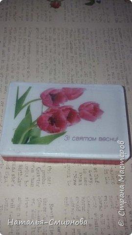 Хочу показать Вам немножко мыла, которое делала  к 8 Марта и ко Дню Валентина фото 18
